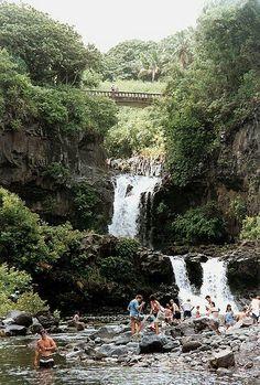 Maui: Seven Sacred Falls.