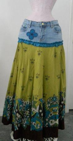 Tie Dye Skirt, Jeans, Skirts, Fashion, Dress Ideas, Sewing Clothes, Moda, Fashion Styles, Skirt