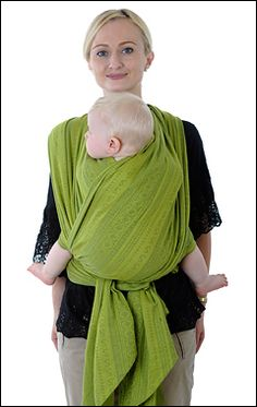 How to tie a baby wrap