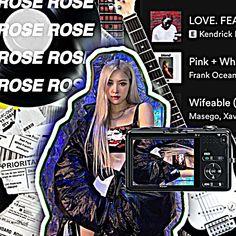 Frank Ocean, Lisa Blackpink Wallpaper, Rose Wallpaper, Rose Photos, Blackpink Photos, Kpop Girl Groups, Kpop Girls, Call My Sister, Overlays Instagram