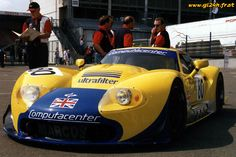 1996 Marcos Mantara LM 600 Chevrolet (6.200 cc.) (A)  Win Percy  Dave Warnock  Robin Schirle