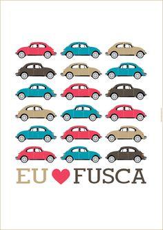 Poster de fusca para download :)