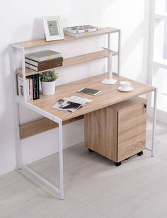 TOPSKY Computer Desk with Bookshelf Deep Modern Design furniture small spaces Ten trendy desks with built-in storage Bookshelf Desk, Trendy Desks, Furniture, Cheap Office Furniture, Home, Home Office Furniture, Diy Furniture, Home Office Design, Home Decor