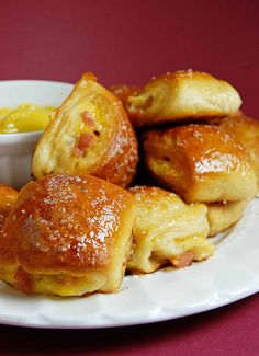 Ham and Cheese Pretzel Bites by Pennies on a Platter, via Flickr
