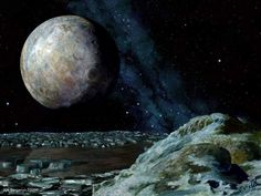 Galaxy Wonders » Pluto, Visit our Website for more Info and Pictures