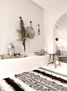 Binnenkijken | Rustieke luxe in San Giorgio Mykonos - Woonblog StijlvolStyling.com