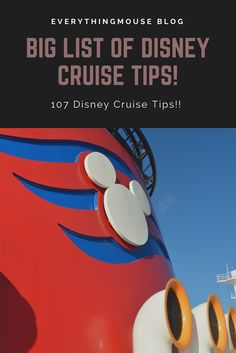 Want the biggest and best collection of #Disney Cruise tips and hacks ever? After spending months at sea on Disney cruises we wanted to provide the most comprehensive list of Disney cruise tips to our readers.