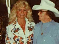 Loni Anderson and Nudie Cohen