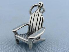 Vintage Adirondack Chair Sterling Charm