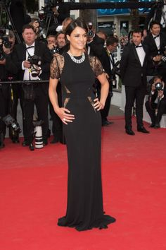 Michelle Rodriguez. See all the best looks from the 2015 Cannes Film Festival.
