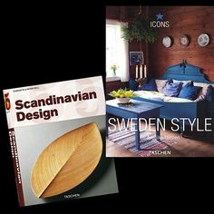 Interested in Scandinavian design and interiors? Here are two inexpensive books I can recommend: Scandinavian Design and Sweden Style, both published by Taschen.