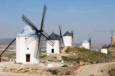 The windmills of Consuegra, Spain