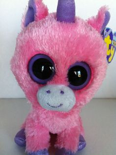 1a3d615815e Ty Beanie Boos Rainbow Purple Pink Unicorn 6
