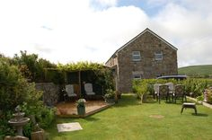 St. Ives Rustic Houses, Manor Homes, English Cottages, St Ives, Rocks, Gardens, Cabin, House Styles, Vintage