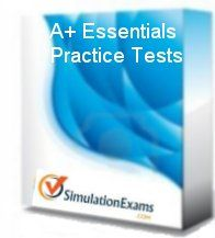 A+ Essentials 220-801 has been updated to .NET version and now is available online for download.  Home page URL: http://www.simulationexams.com/exam-details/aplus-essentials-220-801.htm  Download page URL: http://www.simulationexams.com/downloads/comptia/aplus-essentials.htm