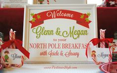 Elf on the Shelf North Pole Breakfast | Made by a Princess Parties in Style