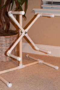 I have all the parts for this!  I think PVC pipes and fittings are tinker toys for adults!