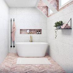 Clawfoot Bathtub, Bathroom, Design, Home Decor, Products, Washroom, Decoration Home, Room Decor, Bathrooms