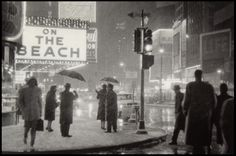 TIMES SQUARE IN SNOW 1959  by Christian Montone #truenewyork #lovenyc