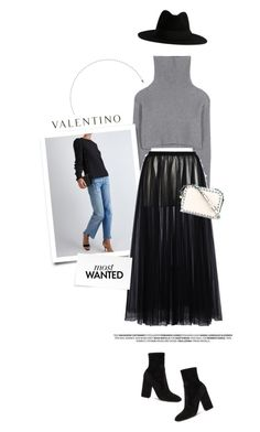 """""""Fall Style with Valentino"""" by pippi-loves-music ❤ liked on Polyvore featuring Valentino and Yves Saint Laurent"""