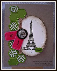 Another card I created for the SU! display stampers entry. You can find all the details on my blog.