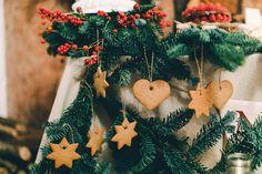 An Italian Christmas Wedding Scene