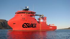 M/S «ESVAGT FARADAY»av Havyard Design & Solutions' 832 SOV design. Skipsrevyen