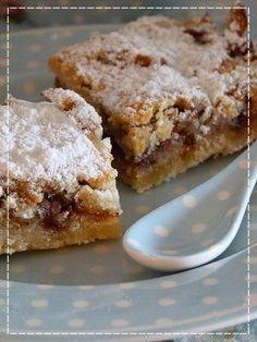 Apple Dessert Recipes, No Bake Desserts, Baking Recipes, Czech Desserts, Czech Recipes, Sweets Cake, Healthy Cake, Cafe Food, Winter Food