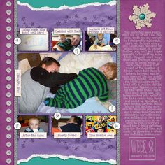 Layout made with Brrr collection.