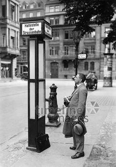 Tram stop.Berlin - Tram stop. History Museum, World History, World War, Black N White Images, Black And White, Timeline Images, Underground World, S Bahn, John Power
