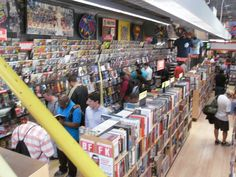 Comic Book Store - You're doing it right!