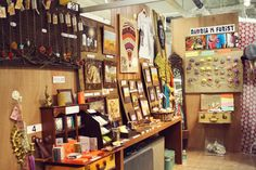 Craft booth ideas & inspiration. Love the design and the variety of products in this area.