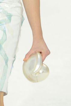 Pearl clutch at CHANEL Spring 2012