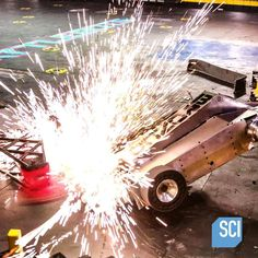 Witness fearsome battles unfold, with @BattleBots! Don't miss your chance to watch, TONIGHT at 7pm on the @ScienceChannel.
