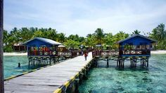 the Island that should be visited in Raja Ampat- Arborek Island