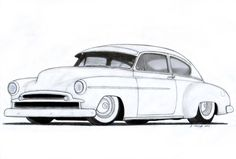 Chevrolet Fleetline, 1949 Chevrolet, Fleetline Custom, Cars Chevy, 52 Chevy…