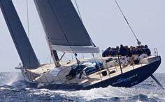 Magic Carpet è l'ultima imbarcazione a vela di WallyCento #barca #vela #wally #navigare
