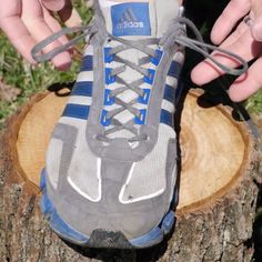 A shoe-tying trick that prevents heel blisters when running. Who knew those extra holes on your sneakers had a purpose!