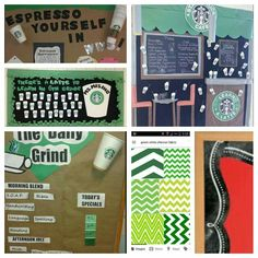 Starbucks Bulletin Board