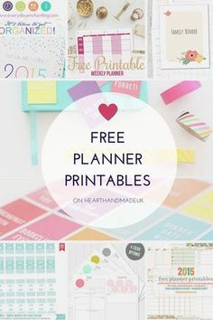 Free Planner Printables :) some of my favourites. Some amazing free printables for planners. In need of some planner printables free? There are planner printables free stickers and calendars. To Do Planner, Free Planner, Planner Pages, Printable Planner, Happy Planner, Planner Stickers, Free Printables, 2015 Planner, Blog Planner