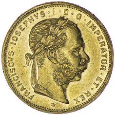 Franz Joseph I. 1848 - 1916 8 Gulden 1881 Gold, Kaiserreich