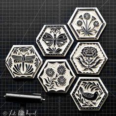 Stamp Printing, Screen Printing, Linocut Artists, Lino Print Artists, Intaglio Printmaking, Lino Art, Handmade Stamps, Linoprint, Illustrator