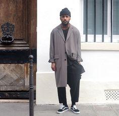 Vans coat beanie tumblr Style men