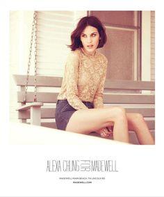 alexa chung hair