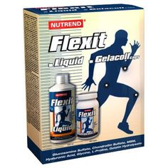 Drink Nutrend FLEXIT Liquid 500 ml + zadarmo kvalitný FLEXIT Gelacoll 180ks. Jedinečný vianočný darček pre všetkých, čo nadmerne zaťažujú kĺby a celý pohybový aparát.