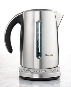 Breville BKE820XL Tea Kettle, Variable Temperature Electric - Tea Kettles & Electric Kettles - Kitchen - Macy's