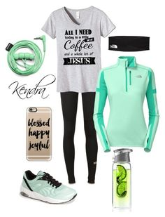 """My morning run"" by k1974johnson1117 ❤ liked on Polyvore featuring adidas, Puma, The North Face, AdNArt, Casetify and Urbanears"