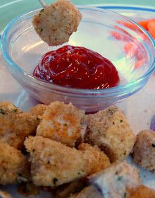 What's for Dinner?: Healthy Baked Chicken Nuggets