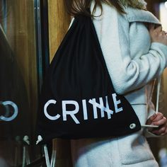 Crime Logo Collegebag❤