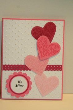 like hearts on side--and of course the embossed background!